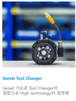 Swivel with Tool Changer